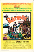 "Movie Posters:Action, Batman (20th Century Fox, 1966). Folded, Fine/Very Fine. One Sheet (27"" X 41"").. ..."