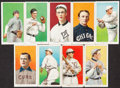 Baseball Cards:Lots, 1909-11 T206 Tobacco Card Collection (9)....