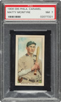 Baseball Cards:Singles (Pre-1930), 1909 E95 Philadelphia Caramel Matty McIntyre PSA NM 7 - Pop Two, None Higher! ...