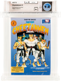 Cheetahmen II - Carolina Collection Wata 9.0 A+ Sealed NES Active 1993 USA
