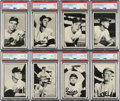 Baseball Cards:Sets, 1953 Bowman Black And White Complete Set (64). ...