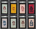 Baseball Cards:Lots, S74 Silk Baseball Collection With Hall of Famers (32)....