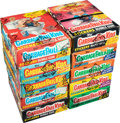 Non-Sport Cards:Unopened Packs/Display Boxes, 1986-87 Garbage Pail Kids Wax Box Collection (10) - Series 3, 4, 5, 6, 8, & 9....