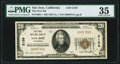 National Bank Notes:California, San Jose, CA - $20 1929 Ty. 1 The First National Bank Ch. # 2158 PMG Choice Very Fine 35.. ...