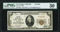 National Bank Notes:California, Fort Bragg, CA - $20 1929 Ty. 1 The Coast National Bank Ch. # 9626 PMG Very Fine 30.. ...