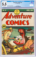 Golden Age (1938-1955):Adventure, Adventure Comics #37 (DC, 1939) CGC FN- 5.5 Off-white pages....