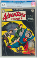 Golden Age (1938-1955):Superhero, Adventure Comics #148 (DC, 1950) CGC VF+ 8.5 White pages....