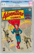Golden Age (1938-1955):Superhero, Adventure Comics #150 (DC, 1950) CGC VF+ 8.5 White pages....