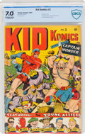 Golden Age (1938-1955):Superhero, Kid Komics #2 (Timely, 1943) CBCS FN/VF 7.0 Off-white to white pages....