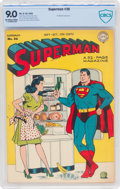 Golden Age (1938-1955):Superhero, Superman #36 (DC, 1945) CBCS VF/NM 9.0 Off-white to white pages....