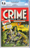 Golden Age (1938-1955):Crime, Crime Does Not Pay #29 Mile High Pedigree (Lev Gleason, 1943) CGC NM+ 9.6 White pages....