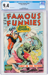 Famous Funnies #210 (Eastern Color, 1954) CGC NM 9.4 Off-white pages