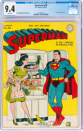 Golden Age (1938-1955):Superhero, Superman #36 (DC, 1945) CGC NM 9.4 White pages....