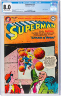 Golden Age (1938-1955):Superhero, Superman #79 (DC, 1952) CGC VF 8.0 Off-white to white pages....