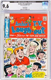 Archie's TV Laugh Out #1 Suscha News pedigree (Archie, 1969) CGC NM+ 9.6 White pages