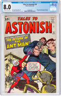 Silver Age (1956-1969):Superhero, Tales to Astonish #35 (Marvel, 1962) CGC VF 8.0 Off-white to white pages....