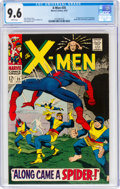 Silver Age (1956-1969):Superhero, X-Men #35 (Marvel, 1967) CGC NM+ 9.6 White pages. ...