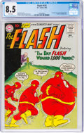 Silver Age (1956-1969):Superhero, The Flash #115 (DC, 1960) CGC VF+ 8.5 White pages....