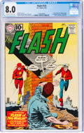 Silver Age (1956-1969):Superhero, The Flash #123 (DC, 1961) CGC VF 8.0 Off-white to white pages....