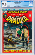 Bronze Age (1970-1979):Horror, Tomb of Dracula #1 (Marvel, 1972) CGC NM/MT 9.8 White pages....