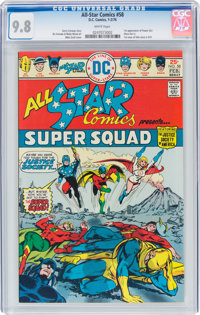 All Star Comics #58 (DC, 1976) CGC NM/MT 9.8 White pages