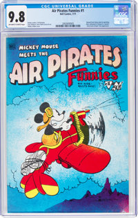 Air Pirates Funnies #1 (Hell Comics Group, 1971) CGC NM/MT 9.8 Off-white to white pages