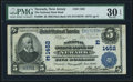 National Bank Notes:New Jersey, Newark, NJ - $5 1902 Plain Back Fr. 598 The National State Bank Ch. # (E)1452 PMG Very Fine 30 EPQ.. ...