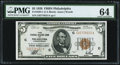 Fr. 1850-C $5 1929 Federal Reserve Bank Note. PMG Choice Uncirculated 64