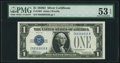 Small Size:Silver Certificates, Fr. 1604 $1 1928D Silver Certificate. PMG About Uncirculated 53 EPQ.. ...