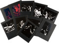 Music Memorabilia:Photos, Grateful Dead Collection of Photos, Negatives, and Contact Sheets at the Fillmore East (40) With Copyright (1970). ...
