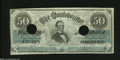 Confederate Notes:1862 Issues, T50 $50 1862....