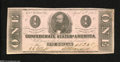 Confederate Notes:1863 Issues, T62 $1 1863....