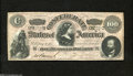 "Confederate Notes:1864 Issues, CT65/491 ""Havana Counterfeit"" $100 1864...."