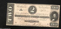 Confederate Notes:1864 Issues, T70 $2 1864....