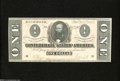Confederate Notes:1864 Issues, T71 $1 1864....