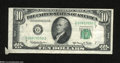 Error Notes:Attached Tabs, Fr. 2015-G $10 1950E Federal Reserve Note. Extremely Fine....