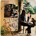 "Music Memorabilia:Autographs and Signed Items, Pink Floyd ""Ummagumma"" Album Cover Signed by all Four members ( EMI-Harvest, 1969)...."