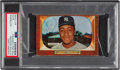 Autographs:Sports Cards, Signed 1955 Bowman Elston Howard #68 PSA/DNA Authentic....