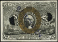 Fractional Currency:Second Issue, 25¢ Experimental Second Issue New.. ...