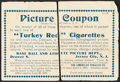 Baseball Cards:Lots, 1910-11 T3 Turkey Reds Coupon, 1933 Goudey Baseball Wrapper, 1954 Sports Illustrated Insert With Mickey Mantle Plus Two Other ...