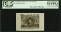 Fractional Currency:Second Issue, A.U. Wyman Courtesy Autograph Fr. 1232SP 5¢ Second Issue Wide Margin Face PCGS Choice About New 58PPQ.. ...