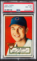 Baseball Cards:Singles (1950-1959), 1952 Topps Bob Rush #153 PSA NM-MT 8....