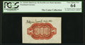 Fractional Currency:Third Issue, A.U. Wyman Courtesy Autograph Fr. 1251SP 10¢ Third Issue Wide Margin Back PCGS Very Choice New 64.. ...
