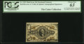 Fractional Currency:Third Issue, A.U. Wyman Courtesy Autograph Fr. 1253 10¢ Third Issue PCGS Choice New 63.. ...