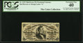 Fractional Currency:Third Issue, A.U. Wyman Courtesy Autograph Fr. 1292 25¢ Third Issue PCGS Extremely Fine 40.. ...