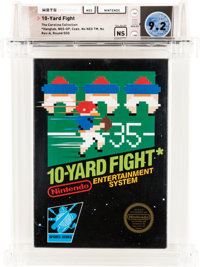 10-Yard Fight [Hangtab, No NES TM] - Carolina Collection Wata 9.2 NS NES Nintendo 1985 USA