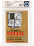 Video Games:Nintendo, The Legend of Zelda [Rev-A, Round SOQ] - Carolina Collection Wata 9.0 A Sealed NES Nintendo 1987 USA....