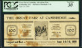 Facsimile T56 $100 1863 Advertising Note PCGS Very Fine 30
