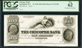Obsoletes By State:Massachusetts, Springfield, MA- Chicopee Bank $100 18__ Proof G100 PCGS New 62.. ...