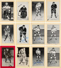 Autographs:Sports Cards, Signed 1944 - 1963 Bee Hive Hockey (Group Two) New York Rangers (50). ...